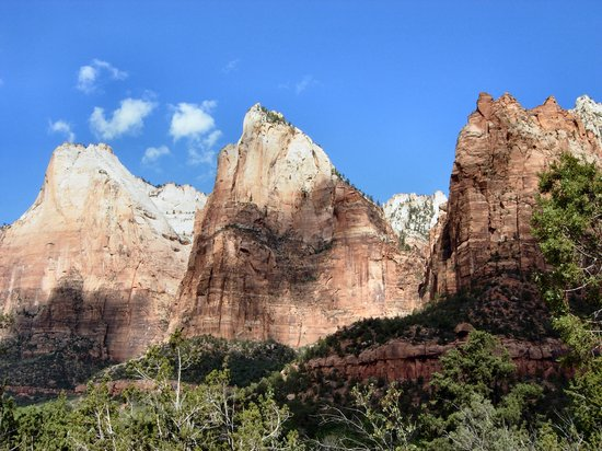 Parc national de Zion, UT : 3 kings