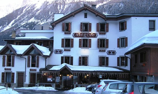 Hotel de l'Arve: Front of the hotel