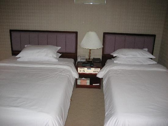 Jeju Oriental Hotel: Twin beds