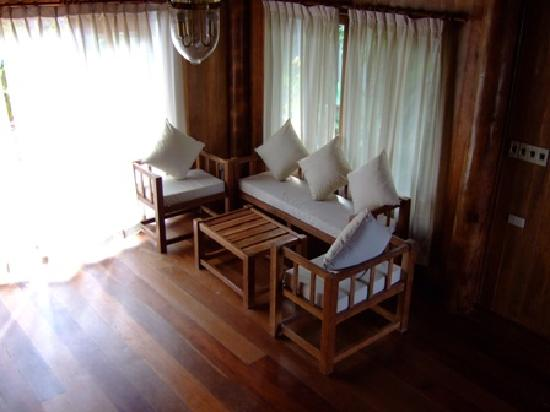 Chanthaburi, Thaïlande : Inside the house.