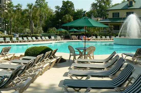 Waterside by Spinnaker Resorts: Poolside at Waterside