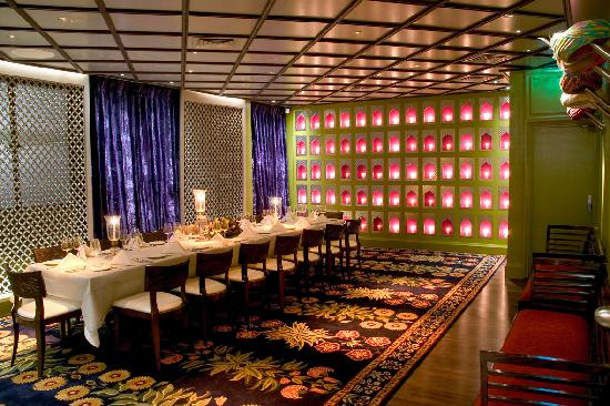 Veeraswamy private dining room picture of veeraswamy for Best private dining rooms city of london
