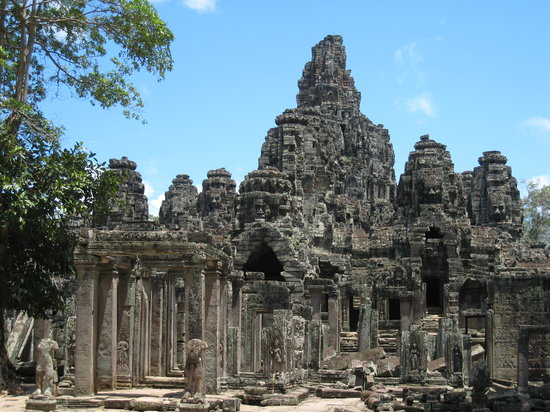 Siem Reap, Cambodja: Bayon