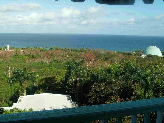 Desecheo Inn: Ocean Domes View
