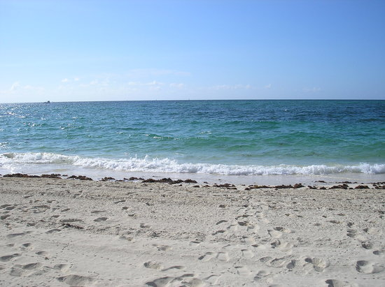 Freeport, Grand Bahama Island: beach!