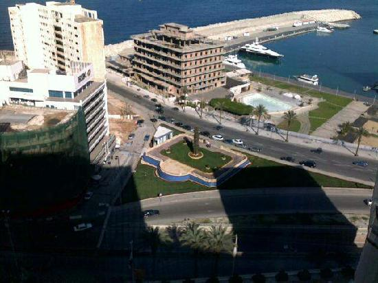 Phoenicia Hotel: view from my room