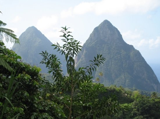 St. Lucia: Die Pitons