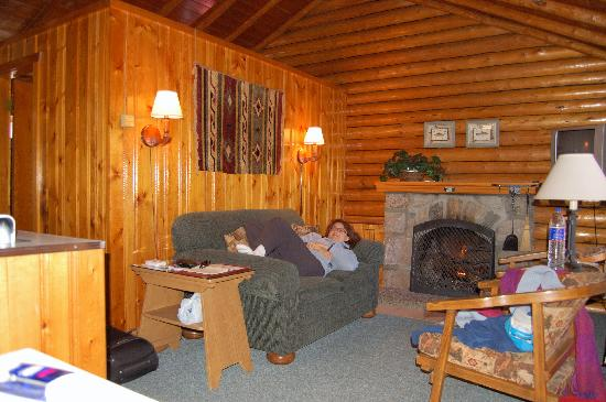 Inside The Cottage Picture Of Alpine Village Cabin