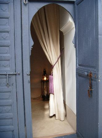Riad Dar-K, room entrance