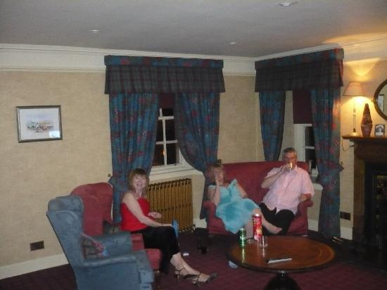 The Lodge at Carfraemill: residents lounge