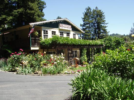 Fern Grove Cottages: Lobby and gardens