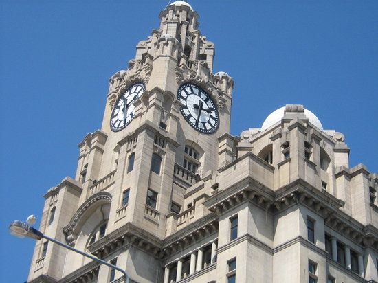 Λίβερπουλ, UK: Royal Liver Building, Liverpool