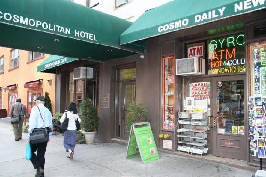 Cosmopolitan Hotel - Tribeca: Cosmopolitan Hotel (Broadway entrance)