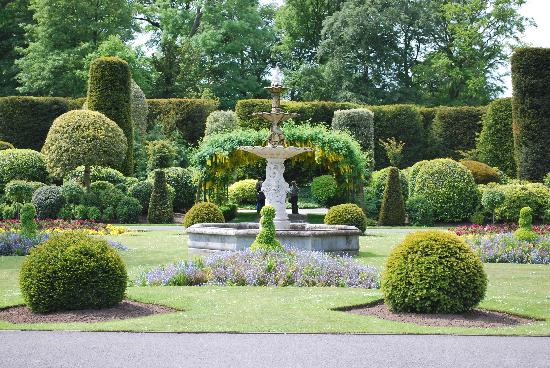 Brodsworth Formal Garden Picture Of Brodsworth Hall And