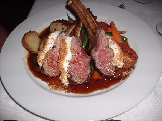 Rack of Lamb entree - Picture of Cafe Marquesa, Key West - TripAdvisor