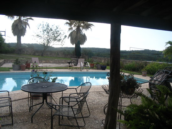 Canyon Lake Ranch: View from the kitchen window!