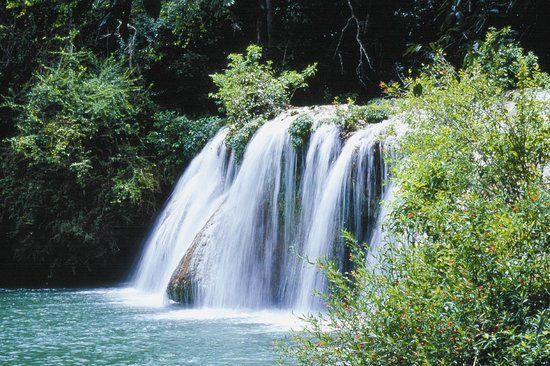 Bonito, MS: Waterfall of the Sun
