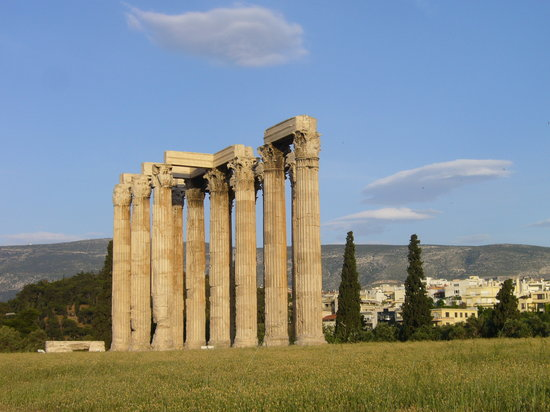 Aten, Hellas: Tempel des Olympischen Zeus