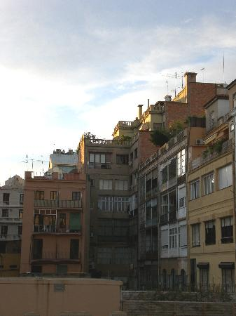 Somnio Barcelona: View from our room