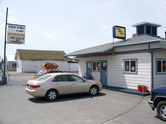 Ritzville (WA) United States  city pictures gallery : Blue Bike Cafe: May 26, 2009