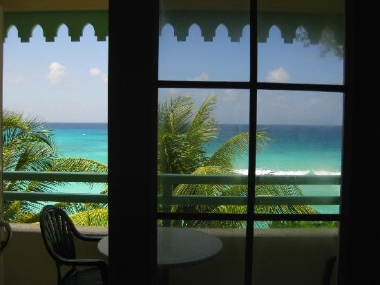 Coral Mist Beach Hotel: view from a studio room B306