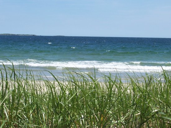 Old Orchard Beach, ME: another view of the beach