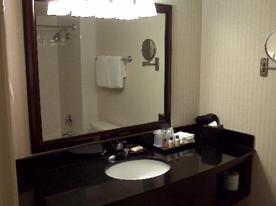 Sheraton DFW Airport Hotel: Clean Bathroom