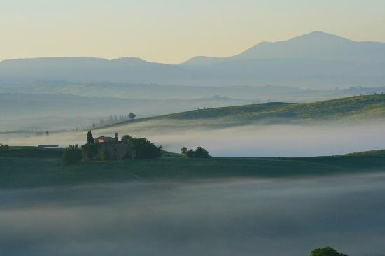 Pienza, : Good morning Tuscany
