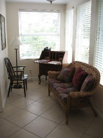 Palm Beach Hibiscus: Rosemary Sitting Room