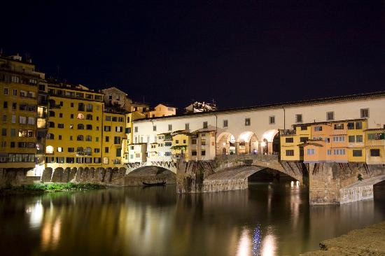 BEST WESTERN Grand Hotel Adriatico: Ponte Vecchio Bridge