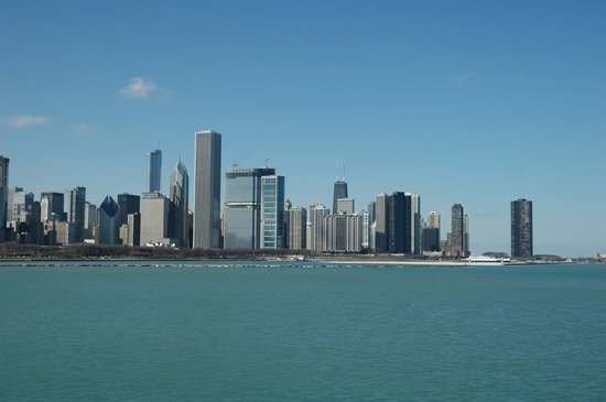 Chicago&#39;s skyline