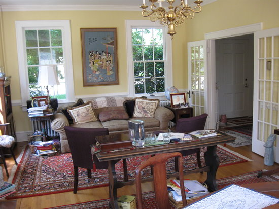 Alice Person House: Living Room/Morning Coffee