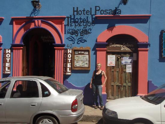 Hotel Posada Tepeyac: outside the hotel