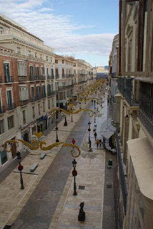 Hostal Larios: Gooood morning Málaga(from the window)!