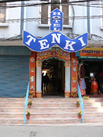 โรงแรมเท็นกิ: tenki from out site verry nice in thamel.