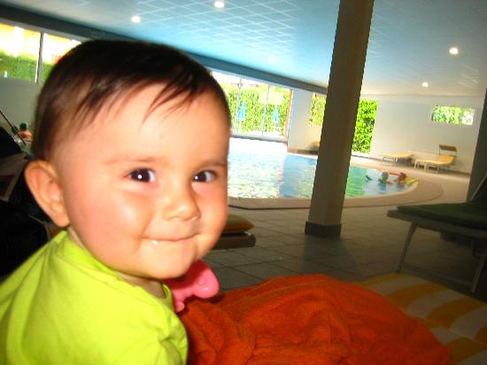 Columbia Terme Hotel: francesca in piscina