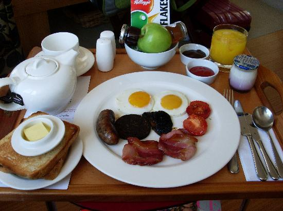 Drakes Hotel Brighton: the breakfast at Drakes!!
