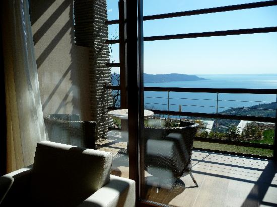 Lefay Resort And Spa Lago di Garda: Balcone camera