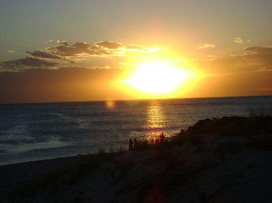 Perth, Australien: sunset coast - Sorrento