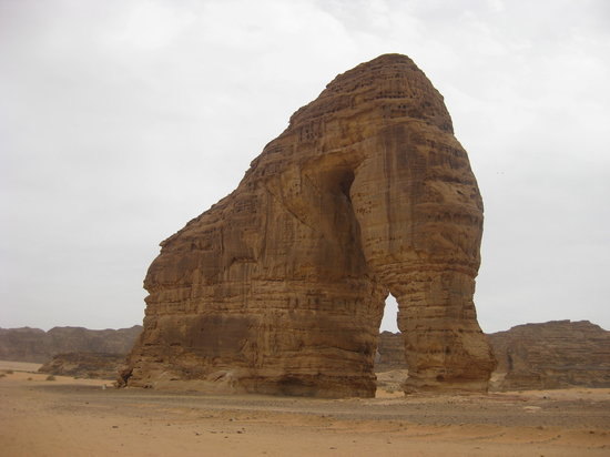 Riaad, Saoedi-Arabi: elephant rock