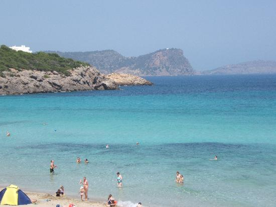 View From Beach Bar At Cala Nova Beach Picture Of