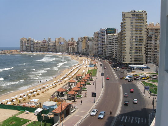 Alexandria, Egypten: thei view from the Renaissance