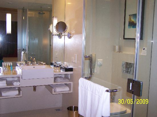 Novotel Hyderabad Airport: Nice wash room