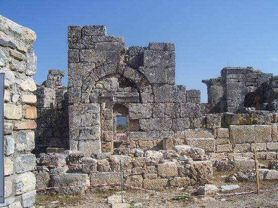 The ancient city of caunos kaunos kaunos antik kenti for Malostranska residence tripadvisor