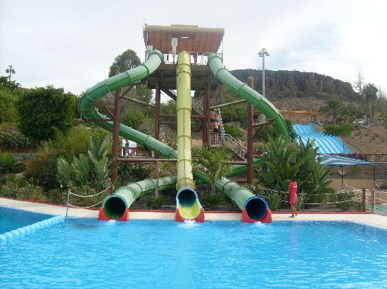 Gran Canaria Princess : aqualands scariest slides