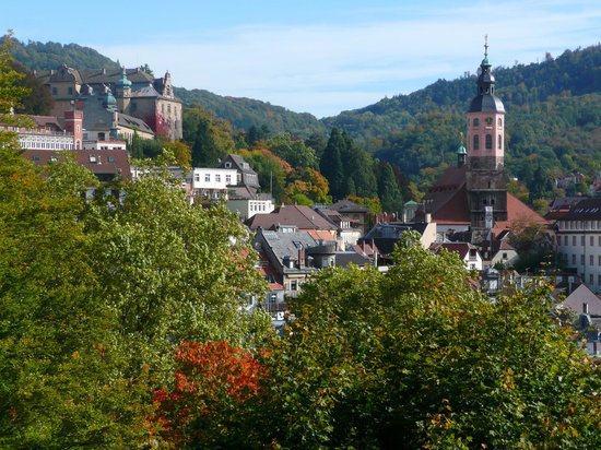 Schwarzwald, Deutschland: Baden-Baden old town