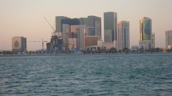 Doha, Qatar: Towers around Corniche region