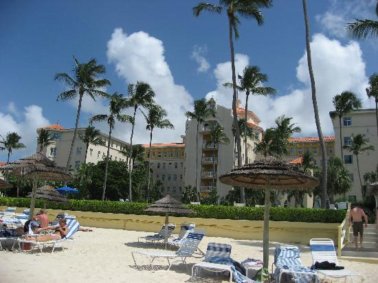 British Colonial Hilton Nassau: the private beach