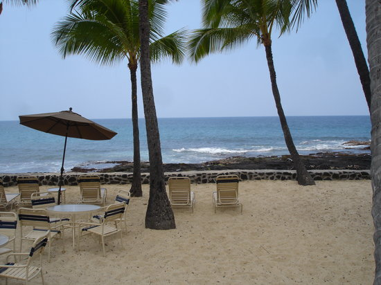 Aston Kona by the Sea: Man made beach