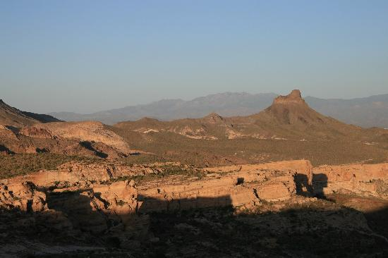 Kingman, AZ: Sitgreaves Pass - from from top